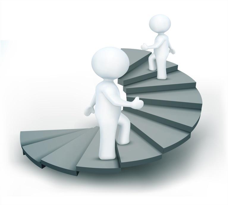 место ЦА в лестнице узнавания