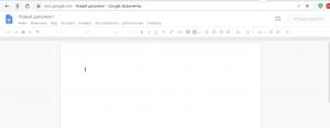 транскрибация Google документ