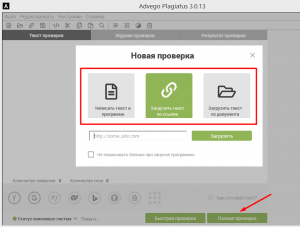 Advego Plagiatus проверка
