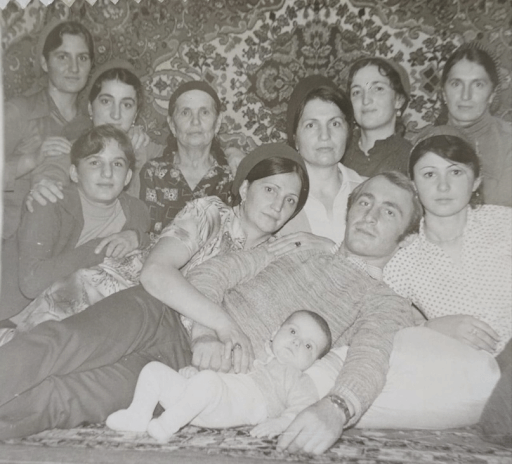 Хамсат Агаева детство