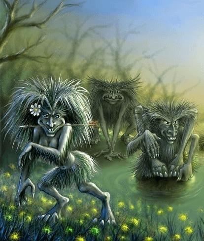 Иллюстрация к байке «Три беса»