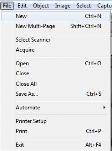 графический файл с нуля