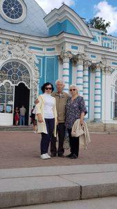 Марина Петухова с родителями